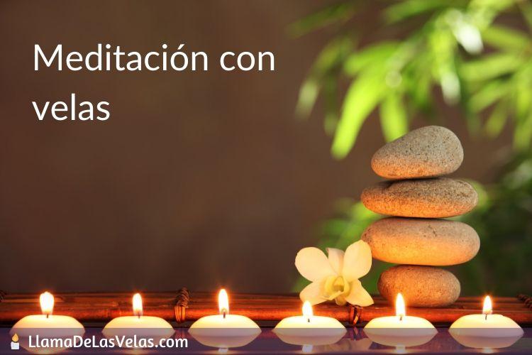 Meditar con velas