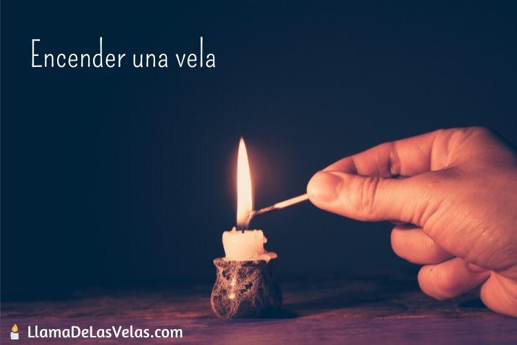 Soñar con encender una vela